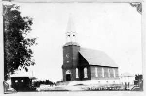 Photo of Calvary Baptist Church. Pearl Murack Collection.