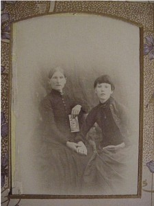 family photo- two women unidentified