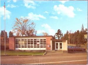 Photo of Killaloe Post Office circa 1970. Pearl Murack Collection.