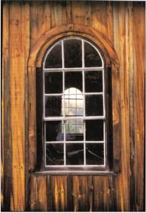 rockingham church window. wc
