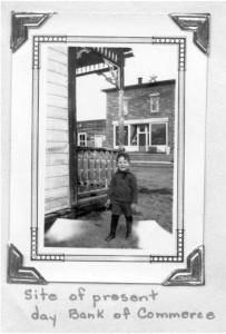 unidentified young boy downtown killaloe